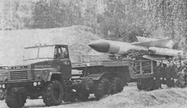 Транспортная машина комплекса С-200
