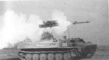 Пуск ракеты ЗРК «Стрела-10»