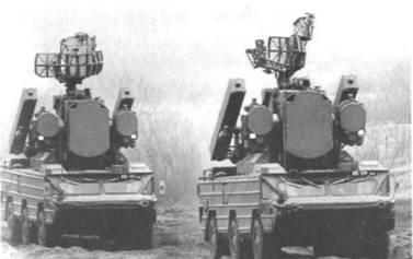 Зенитный ракетный комплекс «Оса» на марше