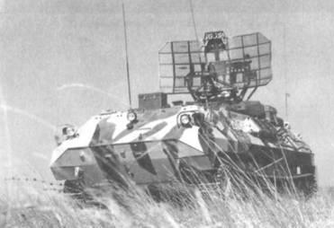 Пункт управления подразделением ПВО мотострелкового полка 9С80-1