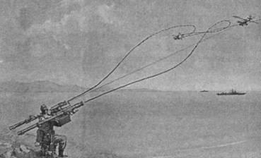 Пуск ракет с установки «Джигит»