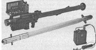 ПЗРК «Стингер» с ракетой и электронным блоком системы опознавания