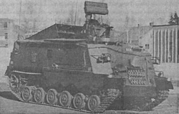 RBS-70 на шасси Lvrbv