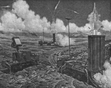 Боевой порядок ЗРК EUROSAM