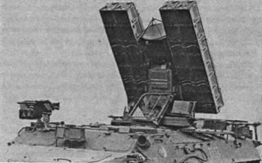 ЗРК«Стрела-10» в боевом положении