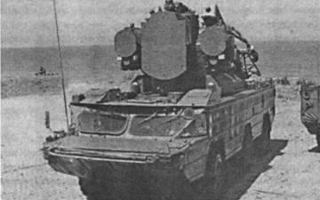 Боевая машина 9АЗЗБМЗ ЗРК «Оса-АКМ»