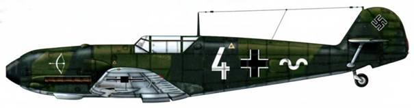 Bf 109Е-1 из 1./jg 20, Бранденбург, Германия, сентябрь 1939 г.