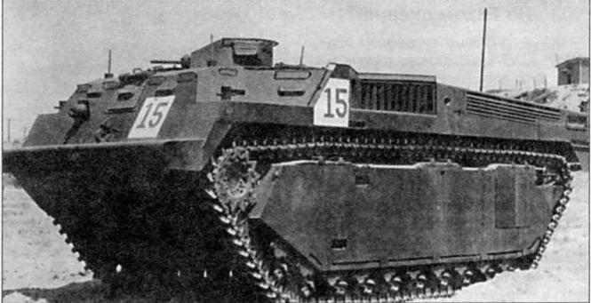 Плавающий бронетранспортер LVT-3(C)