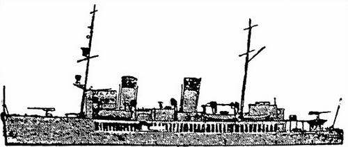Русский ледокол «Илья Муромец» тоже стал «французом» — минным заградителем «Роllих»