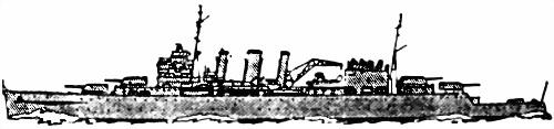 Английский тяжелый крейсер «Suffolk»