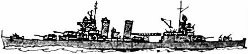 Американский тяжелый крейсер