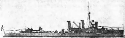 Греческий крейсер «Неllе» (1931г.)
