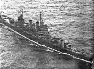 Американский легкий крейсер «Brooklin»