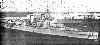 Британский тяжелый крейсер «London»