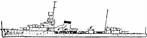 Японский легкий крейсер «Yubari»