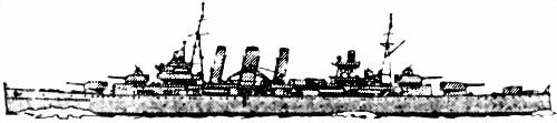 Британский тяжелый крейсер «Berwick»