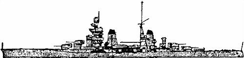 Итальянский тяжелый крейсер «Gorizia»