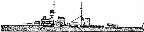 Итальянский легкий крейсер «Luigi Cadorna»
