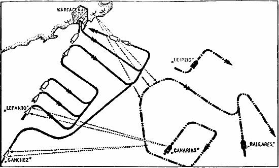 Бой в районе Малага — Картахена 16?17 апреля 1937 года