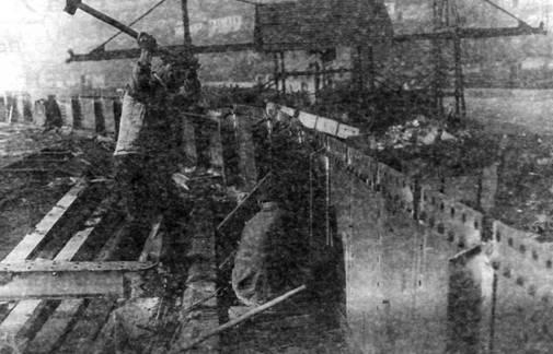 Разборка старого броненосца. Севастополь.