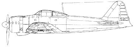 A6M2 второй прототип