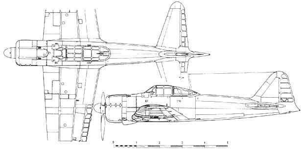 A6M2 Model 11 с 37 до 46 серийные экземпляры
