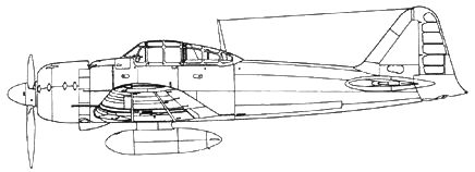 A6M3a Model 22a с длинноствольными пушками Тип 99 модель 2 Мк 3