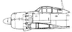 A6M5d Model 52d за кабиной летчика установлены наклонные 20-мм пушки
