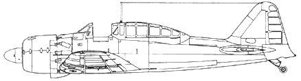 A6M5-K Model 22