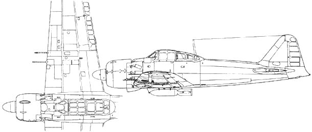 A6M5с Model 52с справа – A6M7 Model 63с