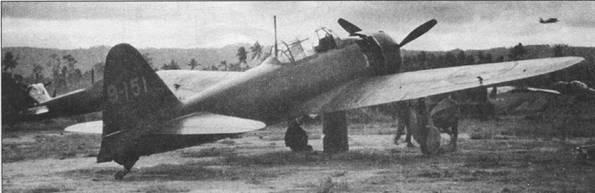 «Зеро» модель 52, Рабаул. Подразделение установить не удалось.