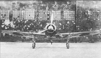 Крыльевые пулеметы сняты, под крылом смонтированы бомбодержатели. На снимке «Зеро» модель 53.