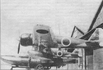 Для улучшения путевой устойчивости на гидросамолет A6M2-N пришлось поставить узкий и длинный подфюзеляжный киль, а также смонтировать небольшую вертикальную поверхность под рулем направления. Самолет с кодом «Каши-103» принадлежит Кашима (тренировочный) кокутай. Верхние поверхности самолета – темно-зеленые, нижние – светло-серые.