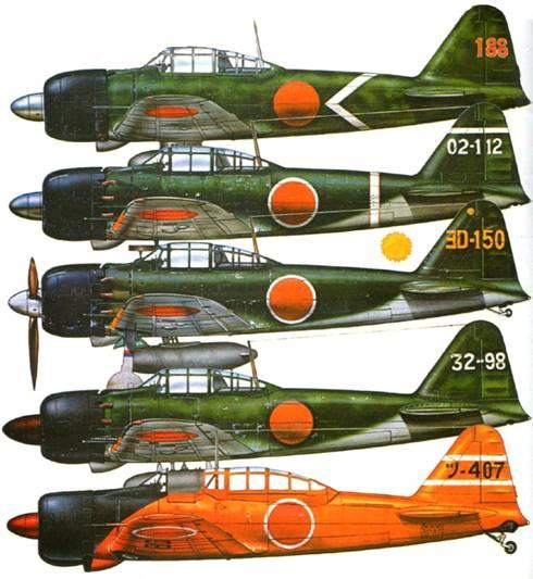 Организация японской морской авиации во время 2-й Мировой войны