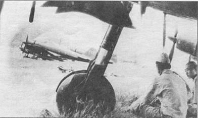 Линейка истребителей «Зеро» .модель 21, Рабаул, лето 1943 г.