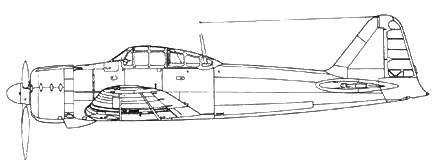 A6M2 Model с 47 no 66 серийные экземпляры