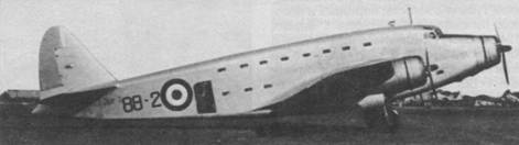 Разоруженный S.82, эксплуатировавшийся итальянскими ВВС после войны