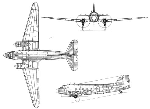 ЛИ-2Т (выпуска 1945г.)