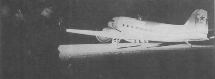 11и-2НБ вылетает на ночную бомбежку, 30 декабря 1944г.