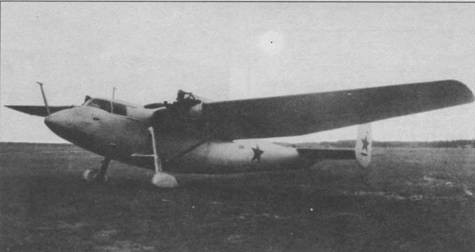 Опытный самолет ТС-1 на испытаниях, 1942г.