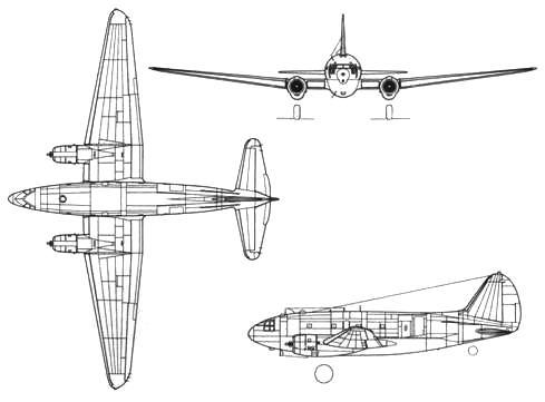 Curtiss С-46 А Commando