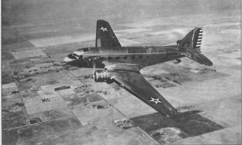С-39 в полете вблизи Сакраменто (Калифорния), сентябрь 1939г.