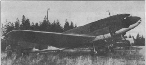 Этот DC-2 зимой 1939/40г. использовался финскими летчиками как ночной бомбардировщик