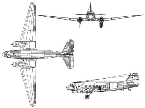 Douglas С-47В Skytrain