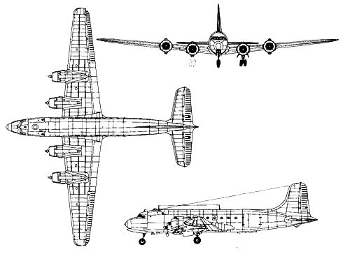 Douglas С-54А Skymaster