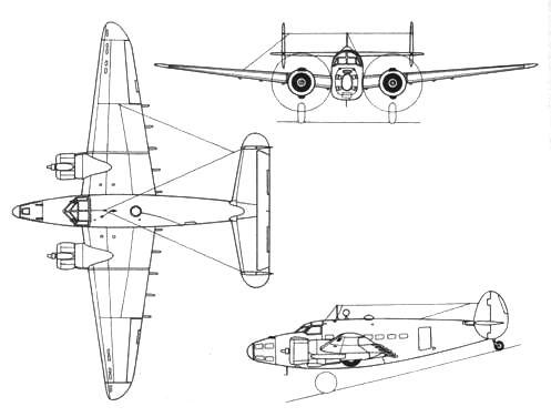 Lockheed Hudson III (без вооружения)