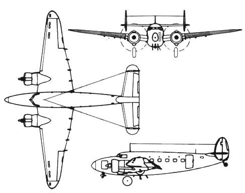 Lockheed С-60 А Lodestar