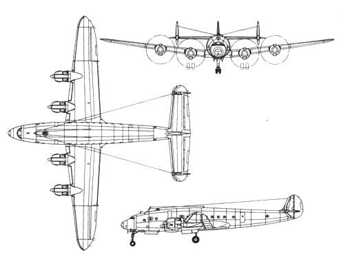 Lockheed С-69 Constellation