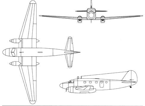 Caudron C.445M Goeland