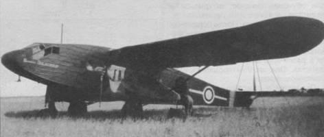 Потэ 65 на одном из аэродромов в Ливане, весна 1941г.